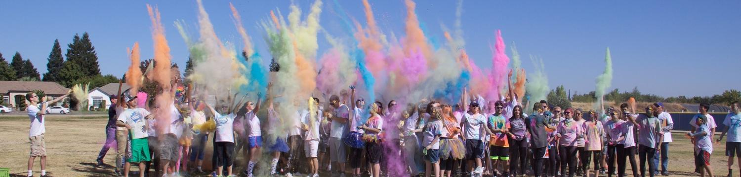 Color Run Explosion