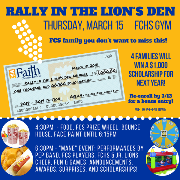 Rally in the Lion's Den
