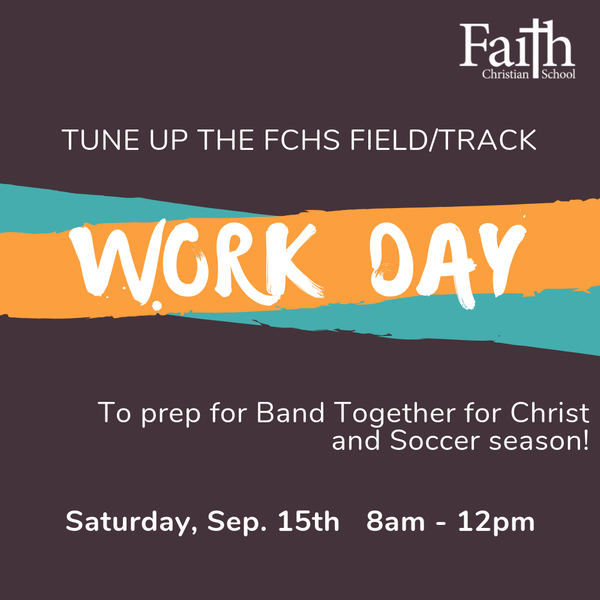 FCHS Field and Track Work Day