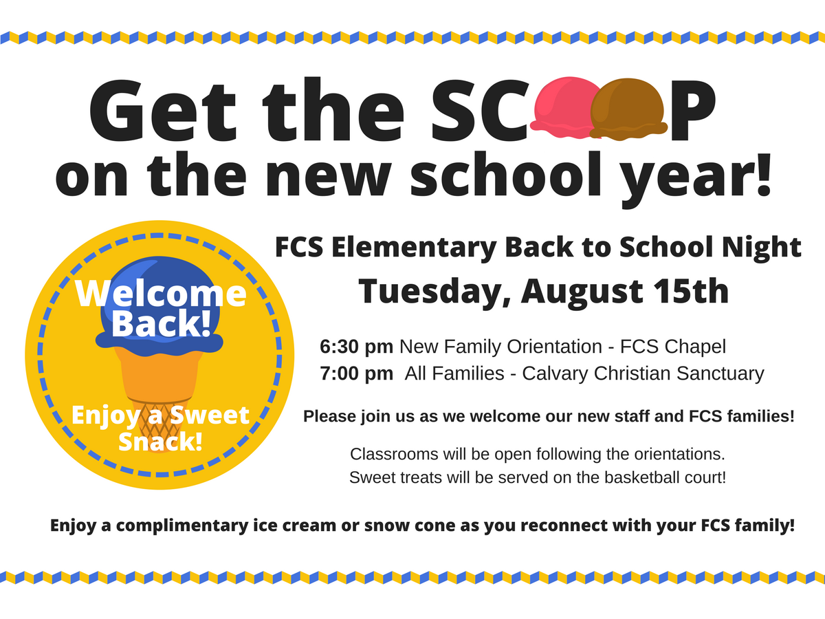 Elem. Back to School Night