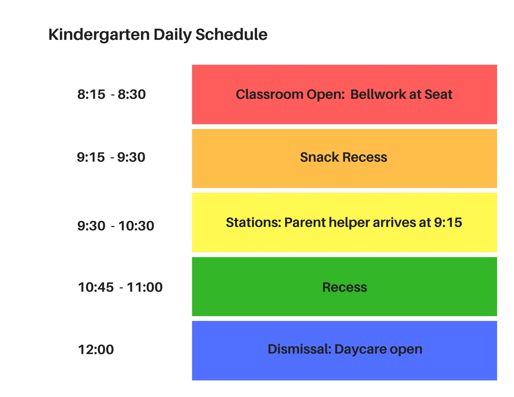 Bell Schedule - Faith Christian School, Inc.